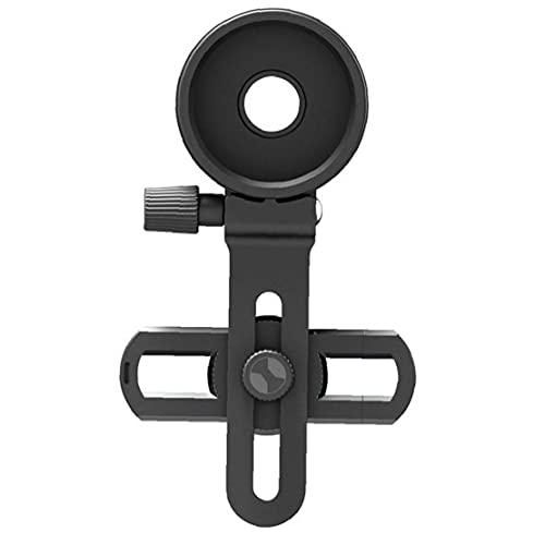 Uayasily Adaptador De Montaje del Teléfono Celular, Clip Telescopio Binocular Universal Microscopio Monocular con Ajuste Adapta Anillo Casi Todos Los Smartphone En Mercado