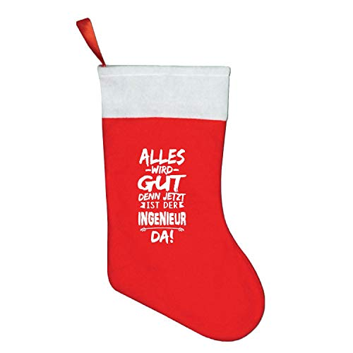 Christmas Stockings INGENIEUR Christmas Decorations,Perfect for Small Gifts, Stocking Stuffers,& Candy