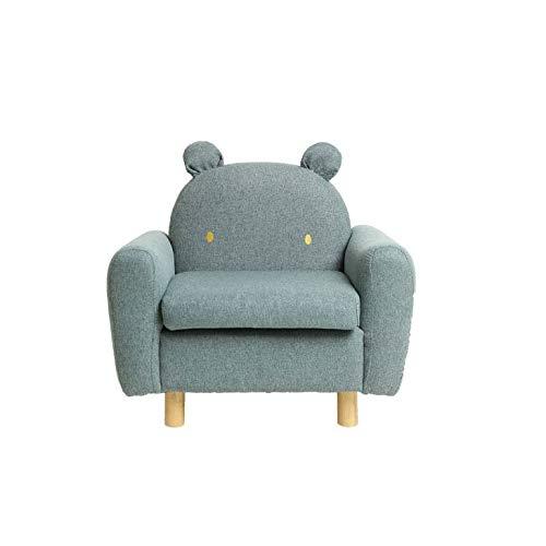 NXYJD Sofá pequeño con Forma de Animal para niños, Silla de Lectura para bebés, sofá Perezoso de Dibujos Animados, Mini Asiento para niño y niña