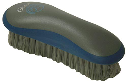 Oster Equine Care Series Grooming Brush, Medium Bristle, Synthetic, Blue