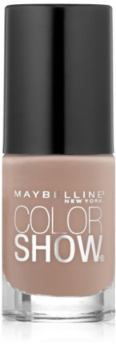 Maybelline New York Color Show Nail Lacquer, Neutral Statement, 0.23 Fluid Ounce