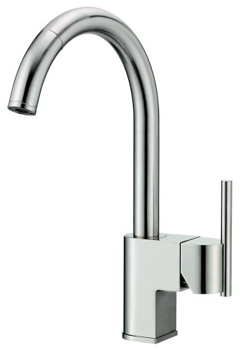 Danze D457144SS Como Single-Handle Pull-Down Kitchen Faucet, Stainless Steel