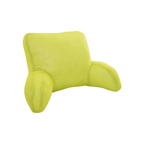 Orthopedisch zitkussen, rugkussen, groot lendenkussen, zitkussen, op kantoor, lendenkussen, rugkussen, mat, zwangeres bed, hoofdsteun, lendenkussen