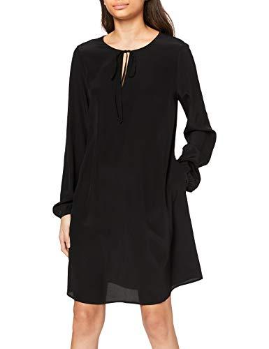 BOSS Damen Effei_1 Bluse, Schwarz (Black 1), (Herstellergröße: 42)