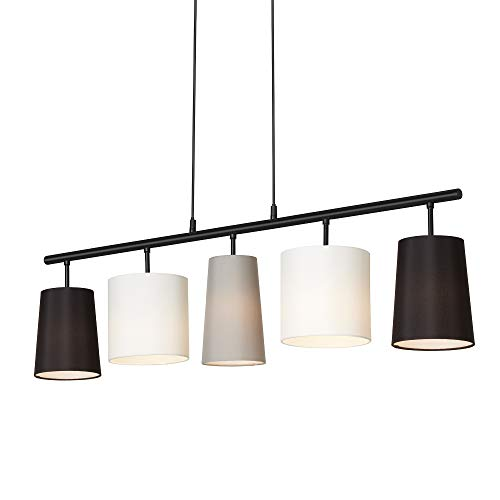 Briloner Leuchten Lampadario a Sospensione da soffitto a 5 luci...