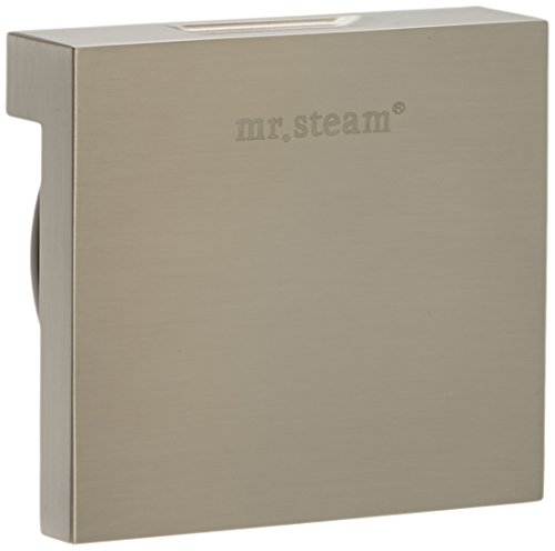 Best Bargain Mr. Steam Ms 104040bn Ms Aromasteam Steamhead, Brushed Nickel