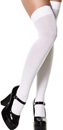 Vintage Nylon Stockings in 3 Colours Black/Natural/White