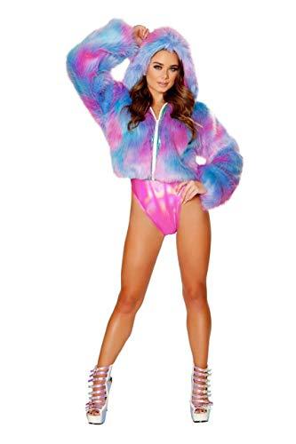 J. Valentine Furry Cotton Candy Jacket
