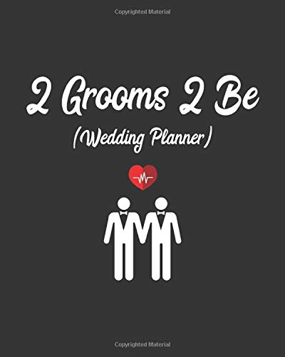 2 Grooms to Be Worksheet-style planner
