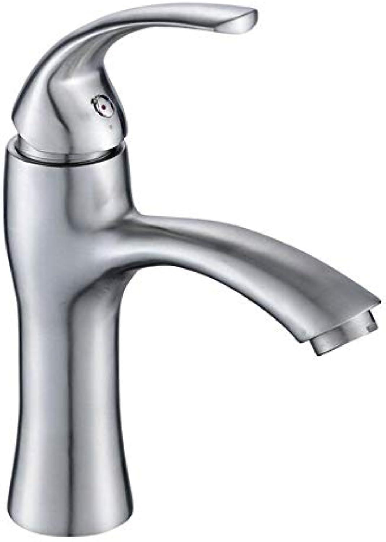 Towero Wasserhahn Edelstahl Waschbecken Waschbecken Wasserhahn Bad Waschbecken Einlochmontage heies und kaltes Mischventil