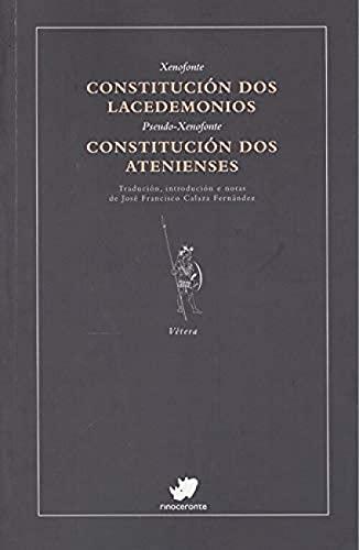 Constitución dos Lacedemonios. Constitución dos Atenienses: 38