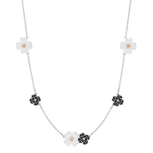 Swarovski Damen Strang-Halskette Vergoldet - 5389491