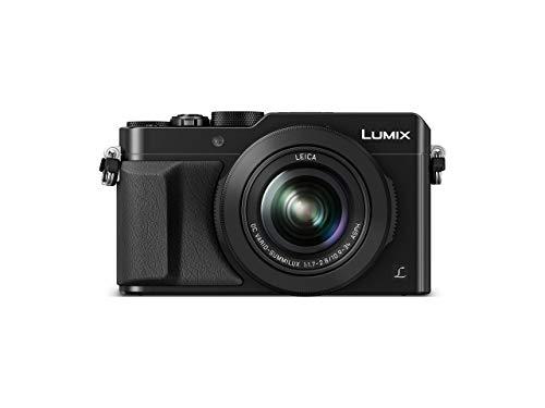 Panasonic LUMIX DMC-LX100EGK Premium Digitalkamera (12,8 Megapixel, 24-75 mm Leica DC Vario Summilux Objektiv, 4K, elektr. Sucher) schwarz