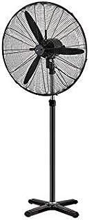 GSC Ventilador de pie metálico 26' 200W Negro 005000745