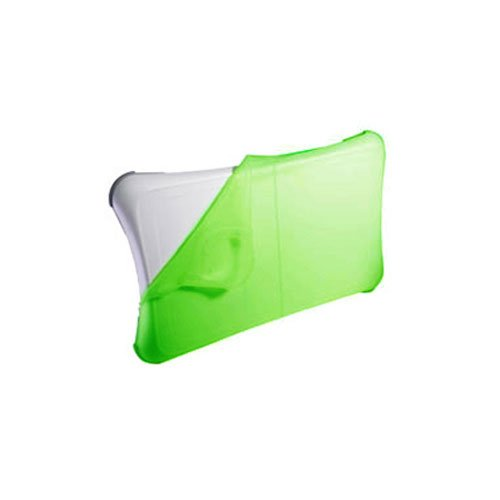 Skque Green Silicone Skin Case for Nintendo Wii Fit