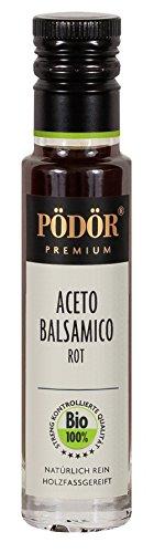 PÖDÖR - Bio Aceto Balsamico Rot 100 ml