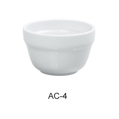 Yanco AC-4 ABCO 7 oz Bouillon Cup, Super White Color, Pack of 36