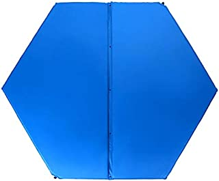 JIA Xing Colchón Inflable automático Hexagonal al Aire Libre Cama de Aire Cama de Aire for Dormir Cojín de Aire Cama King Size Cama de Aire automática Cama de Aire