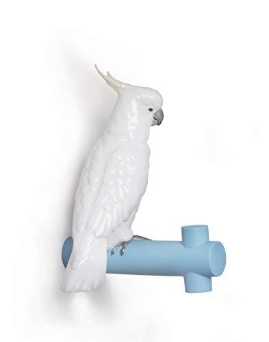 LLADRÓ Wandhaken Parrot Hang Ii. Wandhaken. Porzellan.