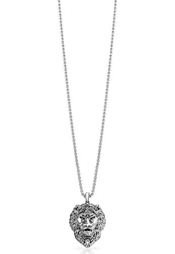 Guess 32002188 Men's Necklace Stainless Steel one size silver