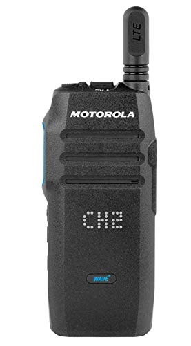 Motorola TLK-100 4G LTE Two-Way Radio WaveMonthly Subscription Required