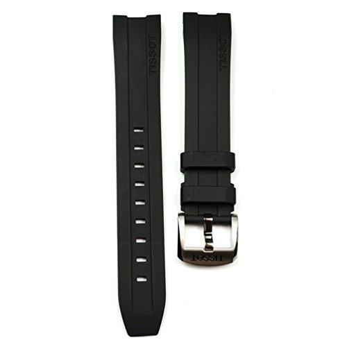Tissot PRC 200 T055417A cinturino in caucciù nero T603032879