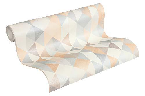 A.S. Création Vliestapete Scandinavian 2 Tapete geometrisch grafisch 10,05 m x 0,53 m beige braun grau Made in Germany 367862 36786-2