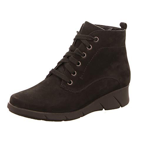 Waldläufer Damen Stiefeletten Denver 905802191/001 schwarz 579488