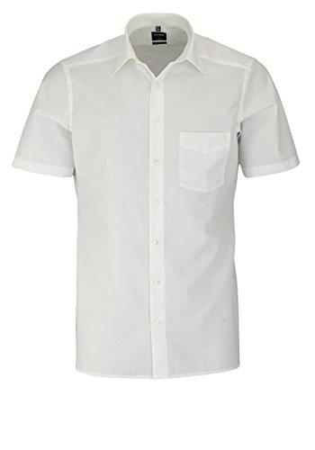 Olymp Luxor Herren Modern Fit Hemd, 0300/12/21, Halbarm, Beige, 48