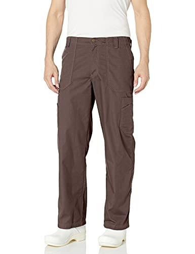 Carhartt Ripstop Men's Multi-Cargo Scrub Pant, Chocolate, Small Short (Apparel)