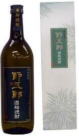 菊水酒造 節五郎 酒粕焼酎 720ml(化粧箱入)