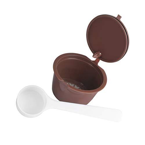 jingyuu cápsulas recargables con café compatibles con los Machines Dolce Gusto con 1cuchara de café 1pc + 1 Cuillere À Cafe