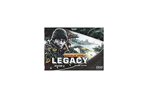 Asmodee 8393 Pandemic Legacy Season 2 Schwarz