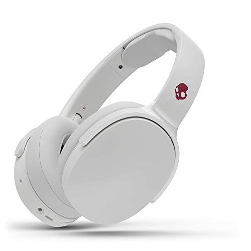 Skullcandy Hesh 3 Wireless Over-Ear Headphone - White/Crimson (Renewed)