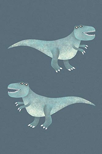 Notes: A Blank Dot Grid Notebook with Cute Tyrannosaurus Rex Cover Art
