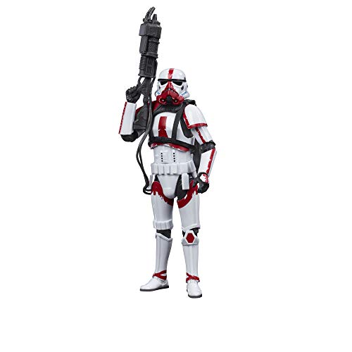 STAR WARS The Black Series Incinerator Trooper Toy 6-Inch Scale The Mandalorian Collectible Action Figure, Toys for Kids Ages 4 and Up