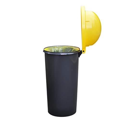 KUEFA Mülleimer/Müllsackständer/Gelber Sack Ständer (Gelb)