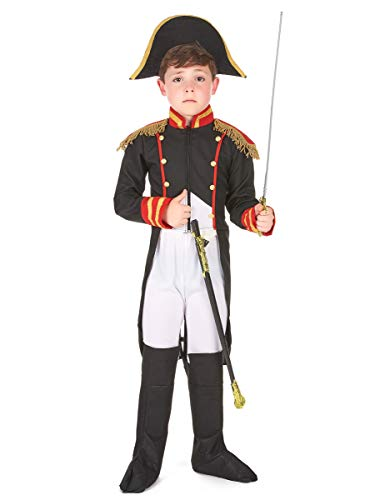 Vegaoo - Disfraz Napoleón niño - S 4-6 años (110-120 cm)