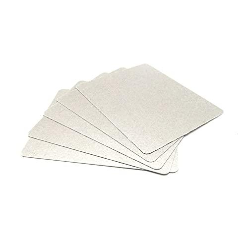 XINYE wuxinye - 50 piezas de repuesto de 12 x 15 cm, apto para microondas, microondas, microondas, mica, microondas, horno, apto para GeneralFit para Midea Fit para Galanz Fit para LG Etc.