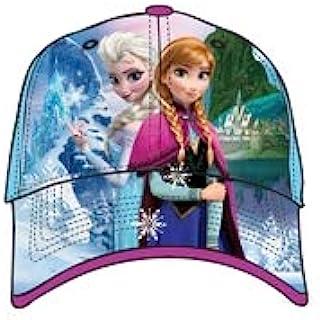 قبعة بيسبول للبنات الصغار آنا آند إلسا من ديزني فروزن