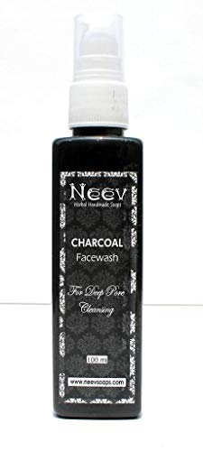 Neev Herbal Handmade Soaps Charcoal Face Wash for Deep Pore Cleansing (30 ml)
