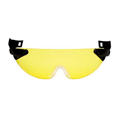 3M V6C Integrierte Schutzbrille für Schutzhelm, Gelb