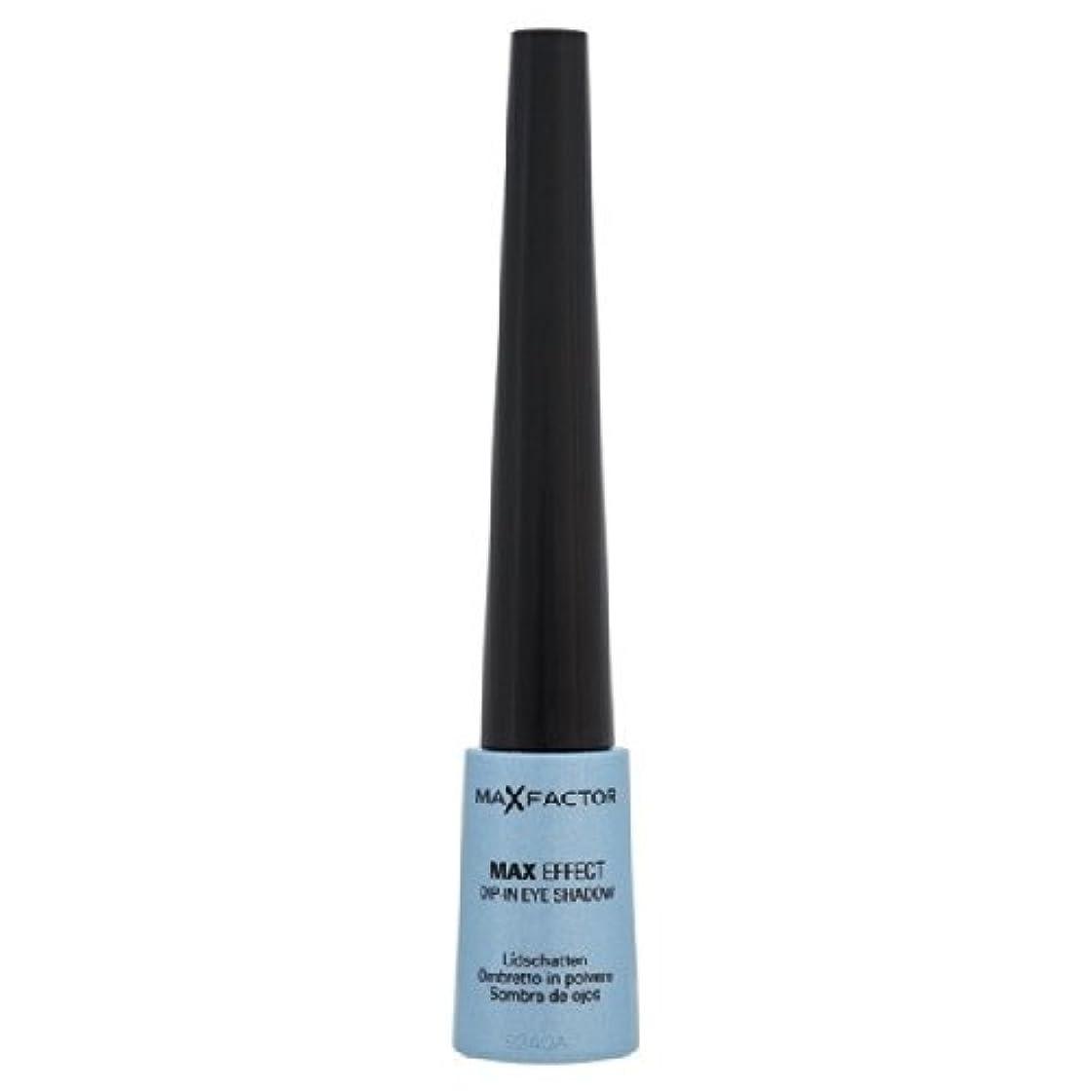 論理的に偽善滅多Max Factor Colour Effects Dip-In Eyeshadow - Moody Blue