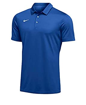 Nike Mens Dri-FIT Short Sleeve Polo Shirt  X-Large Royal