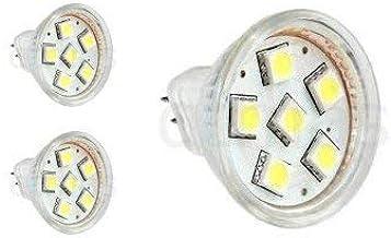 3 Pack MR11 Halogen Spot Light Replacement GU4 2 Pin LED 1.5 Watt Ceiling Mini Recessed Spot Lighting Accent Beam Lamp AC ...