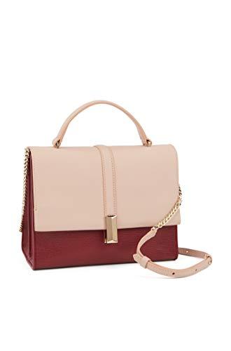 BOSS Damen Handtasche Nathalie Top Handle Rot OneSize