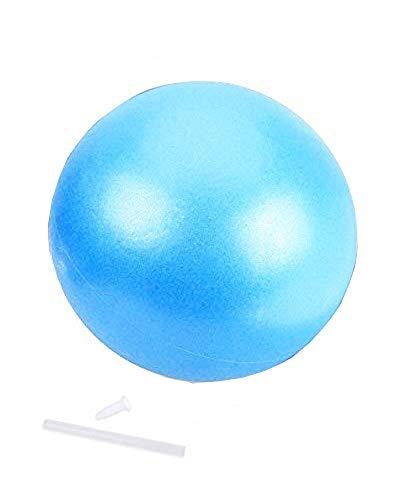 (Blu) Palla Gonfiabile - Fitness Ginnastica - 25 cm diametro - Yoga - Pilates - Allenamento - Sport - Palestra - Esercizio fisico - Massaggio - Equilibrio - Postura