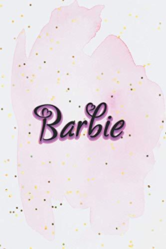 Barbie Notebook: Barbie Lovers Journal Notebook/Journal Gift, Barbie Love, 6' x 9' Lined Notebook With Purple