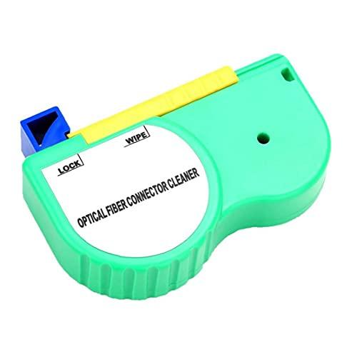 Fibra óptica limpiador antiestático 500 Herramienta SC FC ST LC Conector adaptador Sin Alcohol tiempos de limpieza, limpiador