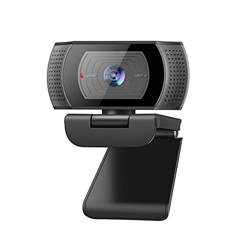 1080P Webcam, HD Web Camera with Microphone, USB Plug and Play Angetube 628AF Webcam with Rotatable Clip for Desktop & Laptop Conference, Meeting, Zoom, Skype, Face Time, Windows, Linux, and Mac OS